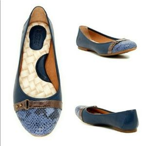 Born   Adorable Leather Comfort Flats